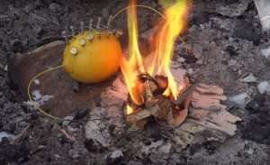 how to make fire with lemon north survival 1