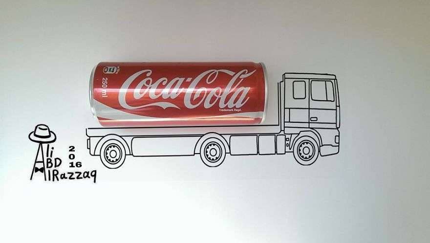 i draw interactive illustrations using everyday objects part 5 10 880