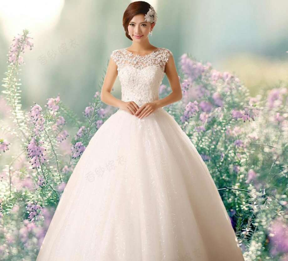 Free-Shipping-2014-New-Arrival-Bridal-Wedding-Dress-Wedding-Gown-W0161-1