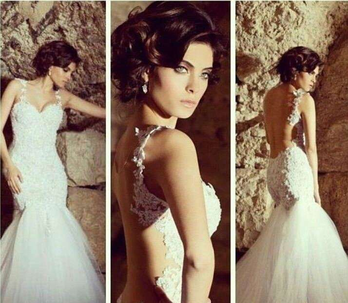 New-Sexy-Sweetheart-White-Ivory-Mermaid-Wedding-Dress-Custom-All-Size-1